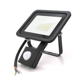 Прожектор с датчиком движения SLIM SENSOR LED RITAR RT-FLOOD/MS30A, 30Вт 220В