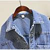 Стильна жіноча джинсовці з кишенями (44-48), фото 3