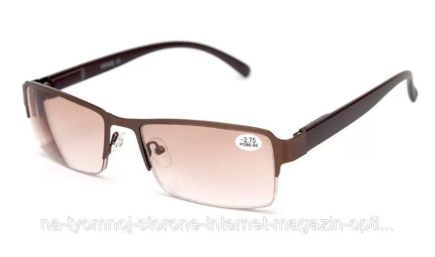 Очки для зрения в металлической оправе Verse 20116S