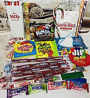 Японские и американсике сладости в наборе Sweet Box
