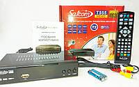 Эфирный DVB-Т2 ресивер Satcom 555 HEVC LAN