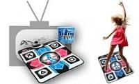 Танцевальный коврик X-TREME Dance PAD Platinum от ТВ и USB