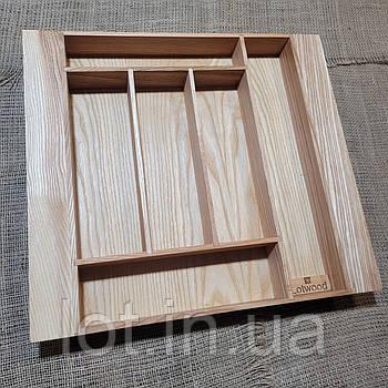 Лоток для столовых приборов L355-445.400 ясень