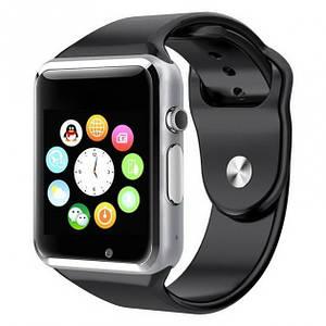 Умные смарт часы-телефон Smart Watch A1 с камерой, Спортивные Bluetooth часы, браслет с сим для взрослых