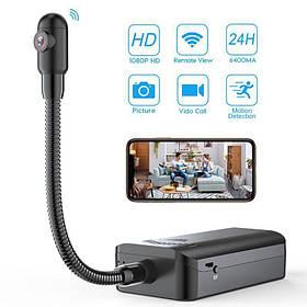 Міні камера wifi з виносним об'єктивом на шлейфі Konlen GG601 Full HD 1080P КОД: 100673