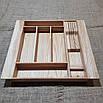 Лоток для столовых приборов LP355-445.400 ясень, фото 3