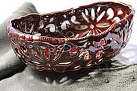 Конфетница керамическая Кармен без ручки