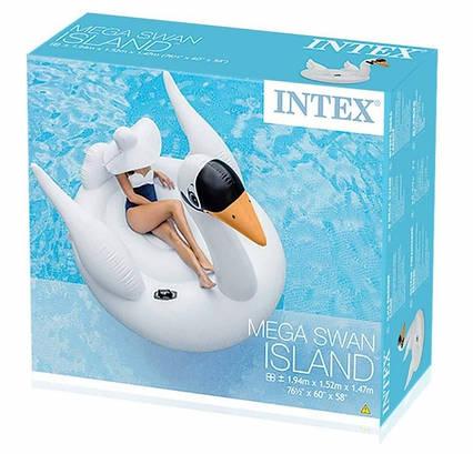 """Надувной плот Intex"""" Белый Лебедь"""" 56287 (194 см)"""