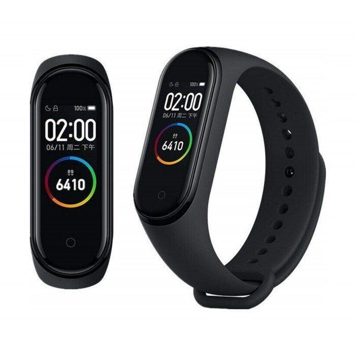 Фітнес браслет трекер Xiaomi mi band 4, Розумні спортивні сматр годинник для здоров'я з тонометром, крокоміром
