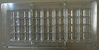 """Форма для конфет поликарбонат""""прямоугольник"""" (код 04548)"""