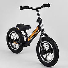 """Велобіг """"CORSO"""" 69280 сталева рама, діаметр надувних коліс 12 """", алюмінієві диски"""
