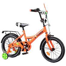 """Велосипед EXPLORER 16 """"T-216113 orangeвиконаний в красивом и оригинальном стиле, руль оснащен зеркалом"""