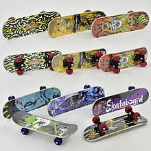 Скейт F 22223 (24) 8 видов, колесо d = 5 cm, PVC, длина доски = 43см