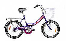 """Велосипед 20 FLD ST """"FOLD"""" вус.рама з корзиною"""