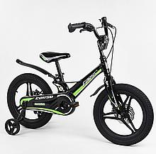 """Велосипед 16 """"дюймов 2-х колесный"""" CORSO """"MG-16219 магниевый рама, алюминиевые двойные диски с усиленной"""