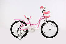 """Велосипед 16 BMX ST """"LITTLE SWAN"""" (Комплектуется широкими боковыми колесами, пластиковыми крыльями, звонком)"""