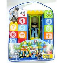 Дитячі конструктори Поліція (Police) 43 шт PS15-3