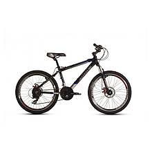 """Велосипед 24 MTB AL """"24 SILVER BIKE 500 D"""