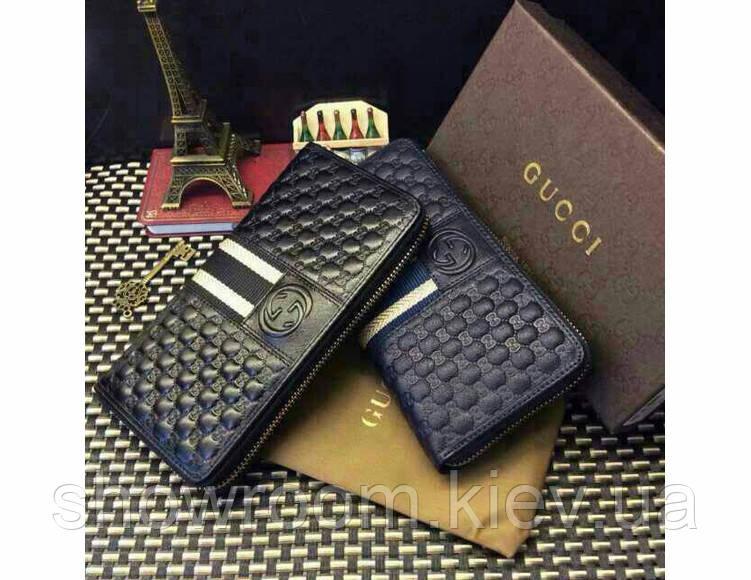 Мужской кошелек в стиле Gucci (138032) blue