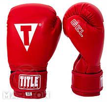 Перчатки для бокса Maraton Title Gel # 10 OZ
