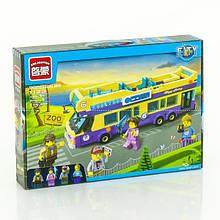 "BRICK 1 123 (24) ""Автобус"" 455 дет, в коробці"