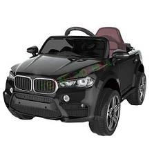 Електромобіль FL1538 (T-7830) BLACK джип на Bluetooth 2.4 G Р/У 2*6V4.5AH мотор 2*25W з MP3 104*64*53