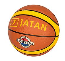 М'яч баскетбольний VA 0049 (50шт) розмір 7, гума, 12 панелей, малюнок-наклейка, 550-600г, у пакунку