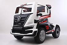 Електромобіль T-7315 EVA WHITE вантажний на Bluetooth 2.4 G Р/У 12V7AH мотор 2*45W з MP3 128*70*75.5 /1/