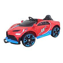 Електромобіль T-7657 EVA RED легковий на Bluetooth 2.4G Р/У 12V4.5AH мотор 2*18W з MP3 122*70*50 /1/