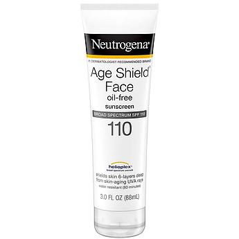 Cолнцезащитный лосьон для лица без масел SPF 110 Neutrogena Age Shield Face Lotion Sunscreen омолаживающий