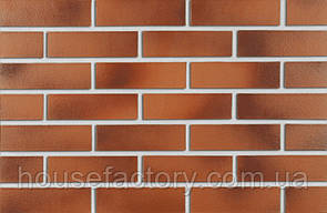 Клинкерная Плитка Roben DARWIN Красно-коричневая гладкая NF 240x14x71