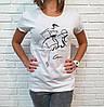 Универсальная женская футболка 42-46 (в расцветках), фото 6