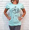 Универсальная женская футболка 42-46 (в расцветках), фото 8