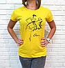 Универсальная женская футболка 42-46 (в расцветках), фото 5