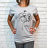 Универсальная женская футболка 42-46 (в расцветках), фото 7