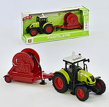 Трактор з причепом WY 900 F інерція, звук, світло, в коробці