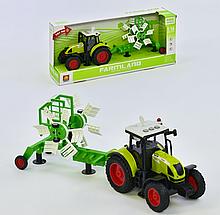 Трактор з причепом WY 900 D інерція, звук, світло, в коробці