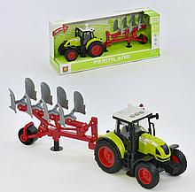 Трактор з причепом WY 900 C інерція, звук, світло, в коробці