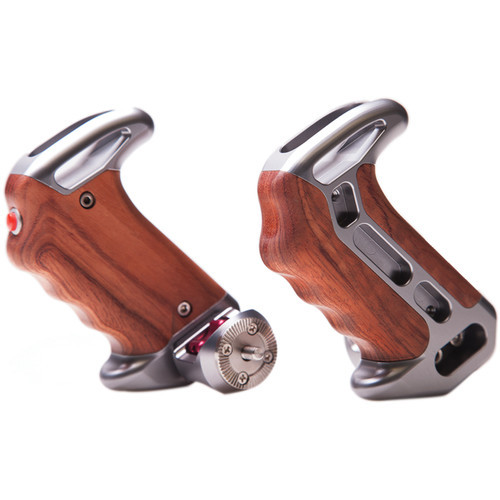 Tilta Wooden Handles with ARRI Rosettes and Two Extension Arms (TT-0507-2)