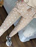 Женский брендовый спортивный костюм (Турция, RAW); размеры С,М,Л,ХЛ (полномерные), 2 цвета., фото 5
