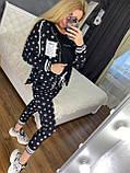 Женский брендовый спортивный костюм (Турция, RAW); размеры С,М,Л,ХЛ (полномерные), 2 цвета., фото 3