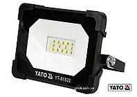Прожектор с SMD-диодами YATO 10 Вт 900 лм 14 диодов