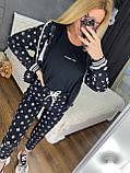 Женский брендовый спортивный костюм (Турция, RAW); размеры С,М,Л,ХЛ (полномерные), 2 цвета., фото 2