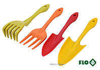 Набор садовых инструментов FLO 4 шт