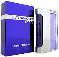 Paco Rabanne Ultraviolet Men Туалетная вода 100 ml Духи Пако Рабан Ультрафиолет Ультравайолет 100 мл Мужской