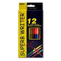 Карандаши цветные двухсторонние MARCO 24 цвета №4110-12 superb writer