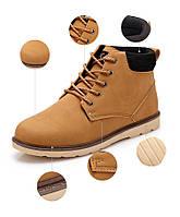 Мужские кожаные зимние ботинки модель 0482, фото 7