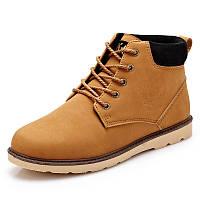 Мужские кожаные зимние ботинки модель 0482, фото 5