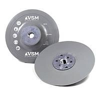 VSM - Оправка для фибровых кругов, гладкая, Ø 115 мм, М14, серая