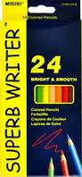 Карандаши цветные MARCO 24 цвета №4100-24CB superb writer